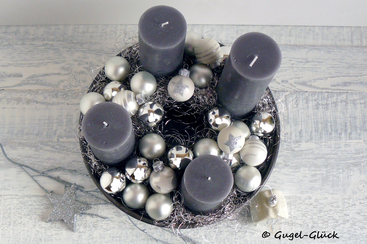 diy moderner adventskranz in der gugelhupfform gugel gl ck. Black Bedroom Furniture Sets. Home Design Ideas