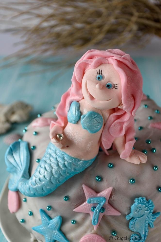 Regenbogenkuchen mit Meerjungfrau 08 Ss
