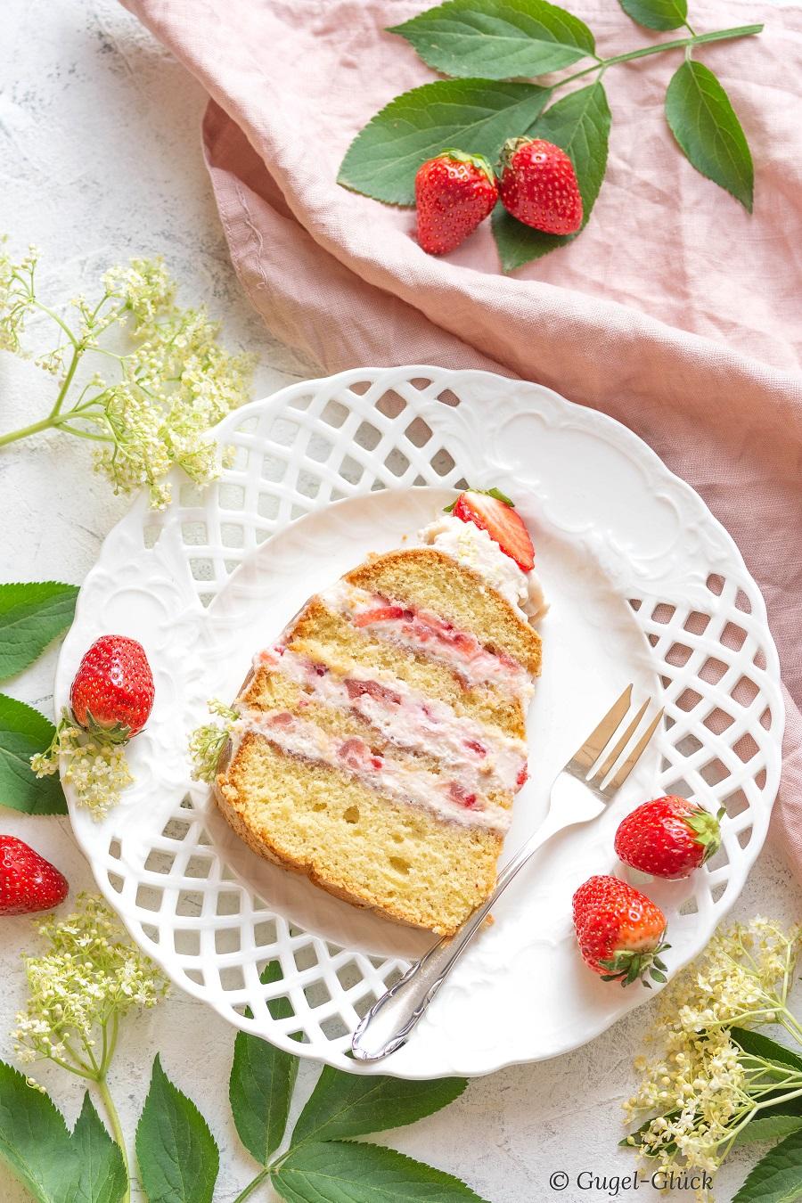 Erdbeer Rhabarber Torte 09 Ss