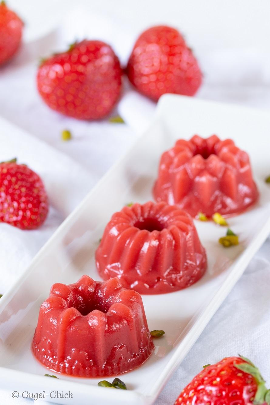 Erdbeer-Jelly - Rezept auf: https://gugelglueck.com/
